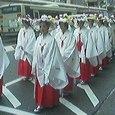 祇園祭 花笠巡行 神饌行列